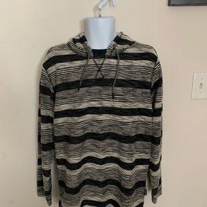 Union Bay Gray Hooded Pullover Men's Pullover